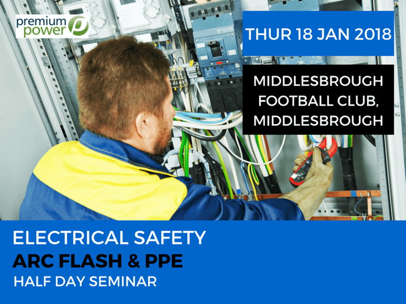 Arc Flash & PPE EVENT