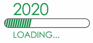 2020 with loading bar