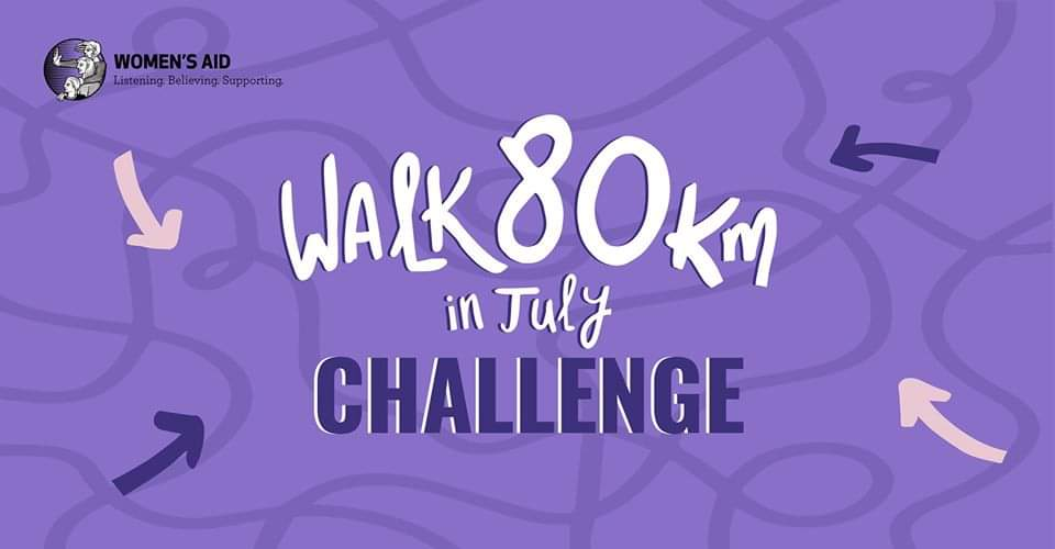walk 80 km in July